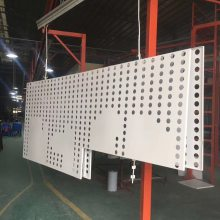 厂家热销氟碳喷涂铝板 5mm雕刻铝单板 拉网铝单板