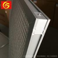 上海新风过滤箱 新风过滤网滤芯定制 铝框耐高温过滤器 空气过滤器定制 恒歌直供