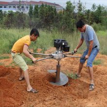 鸭脖app手机客户端下载供应勘探设桩打眼机 动力强劲打窝机 树木种植挖坑机