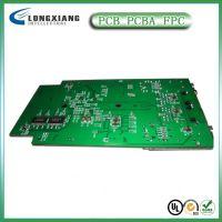 深圳厂家提供双面沉金线路板 PCB板加工 加工电路板贴片后焊一站
