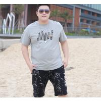 陕西宝鸡市凤翔县哪里有好看纯棉男装大版t恤批发哪里有制衣厂生产