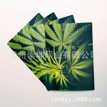 生产供应3D塑料立体画印刷PET卡片纸质工艺品磨砂彩印明信片定制