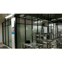 东莞松山湖办公室玻璃内置百叶隔断