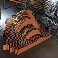 专业生产铝方通仿真木纹铝型材铝合金木纹挤压铝型材可定制