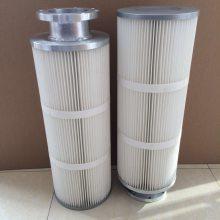 腾达厂家供应替代325快拆式粉尘过滤器喷塑回收喷粉滤芯工业除尘用塑粉滤心滤筒