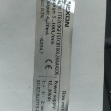 NEXON流量指示器FTB200 GF 10 TC B 20L
