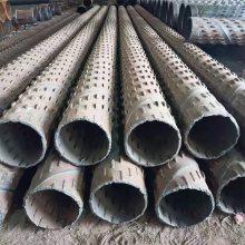 镀锌打井钢管273mm、钢制桥式过滤器/滤水管生产单位