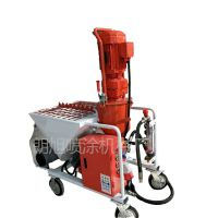 优质型工程大型螺杆式自动喷砂机 全自动石膏喷涂机喷的腻子粉不厚