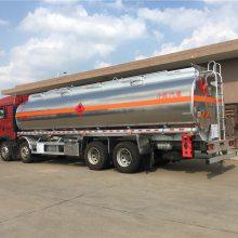 楚胜铝合金油罐车价格,30吨油罐车,重汽铝合金油罐车厂家直销