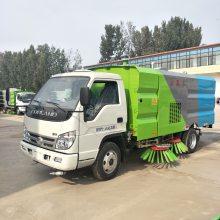 小型扫路车5方福田一车两用路面垃圾清理洒水除尘扫路车二手全手续扫路车