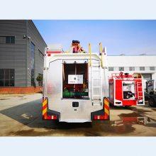 GP70/Z型 干粉泡沫联用消防车 GL70/Z型多剂联用消防车图片及参数 厂家介绍