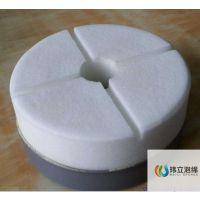 厂家供应纳米海绵异形加工 吸音 阻燃 质轻 隔热三聚氰胺泡绵制品