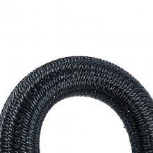 25MM电线保护编织网管_硕腾开口蛇皮自卷管_PET耐磨编织网管厂家