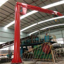 安庆小型旋臂吊、1000公斤有效高度4米BZD型壁柱式悬臂起重机