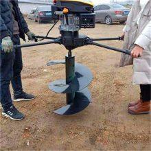 河北单人挖坑机 手推式挖坑机