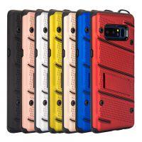 iphone7/8plus防摔铠甲手机壳 三星S8 PLUS二合一支架硅胶保护套