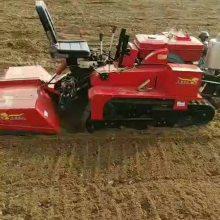 履带式微耕管理机 开沟旋耕回填微耕机