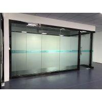 深圳异型透明玻璃贴广告喷绘定制