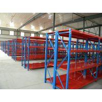 中型Q235B不锈钢横梁固联货架,型号2000*800*3000四层,中量型600kg/层,桔色货架
