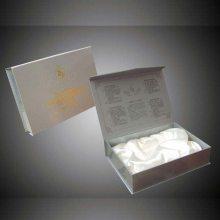 深圳燕窝书型精装盒设计定制 白色***木质燕窝礼盒定制