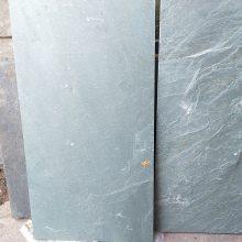 厂家直销绿色天然青石板湖北青石板园林古建铺路石绿色文化石绿石板
