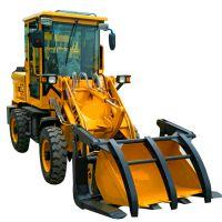 养殖场用抓草机不同配置 小型装载机厂家直销