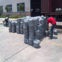 双股刺绳护栏 刺丝每公斤多少米 哪里有铁蒺藜卖