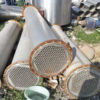 购销二手冷凝器 板式换热器 管式换热器 304材质不锈钢列管冷凝器