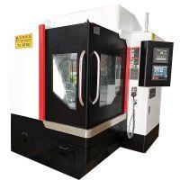 650D三轴雕铣机精雕可做四轴联动雕铣高光机床 立式加工中心厂家