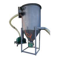 负压风力抽灰机 移动水泥粉输送机
