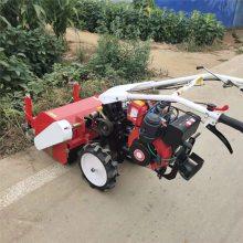 亚博国际真实吗机械果园林间杂草自走式碎草机 四轮后置粉碎还田机 小型电启动粉碎还田机