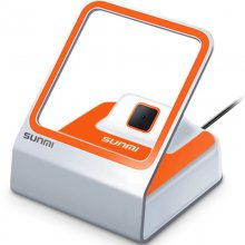 SUNMI商米小闪二维扫码器 ,可以支持微信和支付宝手机扫码收银的扫描平台