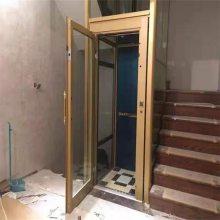 孝感小型液压电梯 别墅洋房观光电梯设计 亚林家用电梯厂家直销