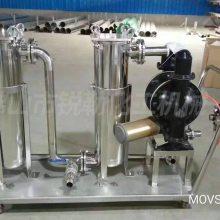 化工过滤机 不锈钢耐酸碱过滤小车 涂料灌装机过滤机