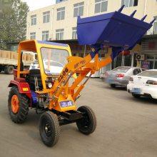 浩阳畅销小型工程运输铲车 多用途两驱装载机 农用改装推土车