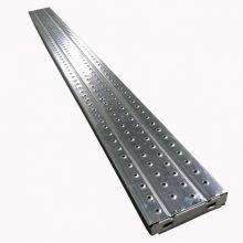 厂家供应脚手架配件热镀锌钢跳板安全防滑踏板工地施工专用钢跳板