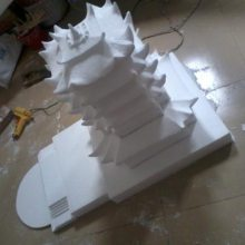 五轴联动 车模 卡通 工艺品雕塑 泡沫雕刻机 五轴联动CNC加工中心