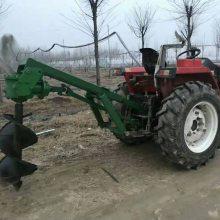 厂家供应拖拉机悬挂式打眼机 挖坑机 植树电线杆刨坑