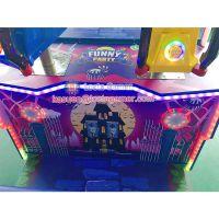 广东中山泰乐游乐嘉年华室内电玩游艺儿童射球射击模拟机机枪震感震动紫色缤纷乐园(LT-RD58)
