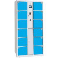 厂家销售24门指纹寄存柜_电子存包柜定制;欢迎采购