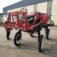 科圣 大型自走式喷药机 柴油四轮驱动亚博正式官网 水旱两用液压施肥机