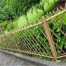亲水平台仿竹护栏 仿竹护栏 竹节栅栏