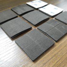 模切冲型5mm厚EVA泡棉垫片 单面胶桌椅沙发防滑脚垫 黑色减压防震胶垫 包邮定制福永创新高轻胶厂
