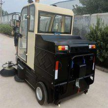 扫地车特点 粉尘树叶电动清扫车 驾驶式电动扫地车