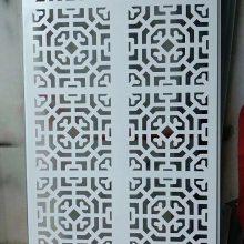 造型门头镂空铝板装饰_屏风镂空铝板德普龙批发
