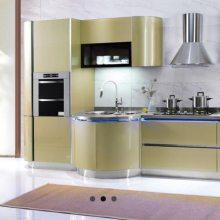 不锈钢厨柜 304整体不锈钢橱柜定制防触电防霉