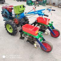 新款农用双筒玉米精播机/手扶拖拉机带大豆种植机