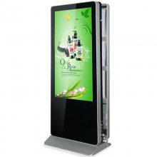 深圳触摸一体机厂家供应55寸立式双面广告机_seeges_SHJ-HD-S55B 55寸双屏广告机