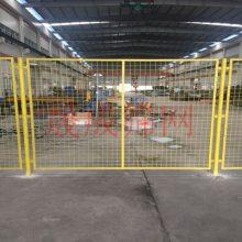 珠海工厂隔离铁丝网现货批发 机械设备安全防护网价格 仓房内护栏网