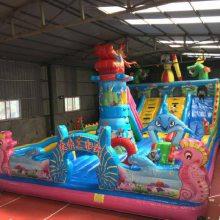 广东惠州充气城堡加盟 工厂大型充气城堡蹦床价格